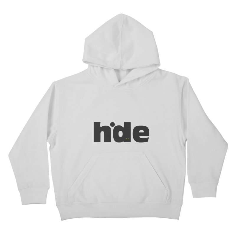Hide Kids Pullover Hoody by DOMINATE'S Artist Shop