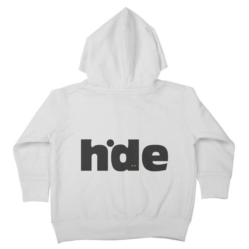 Hide Kids Toddler Zip-Up Hoody by DOMINATE'S Artist Shop