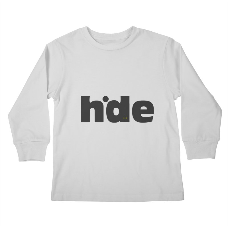 Hide Kids Longsleeve T-Shirt by DOMINATE'S Artist Shop