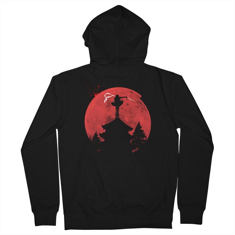 Ninja Men's Zip-Up Hoody by DOMINATE'S Artist Shop