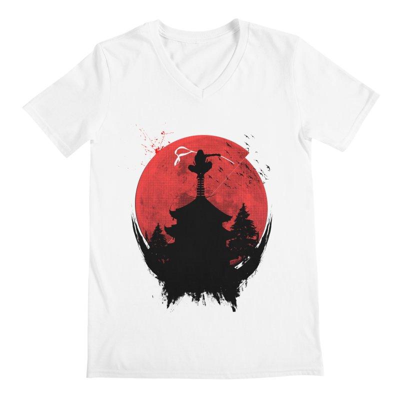 Ninja Men's V-Neck by DOMINATE'S Artist Shop