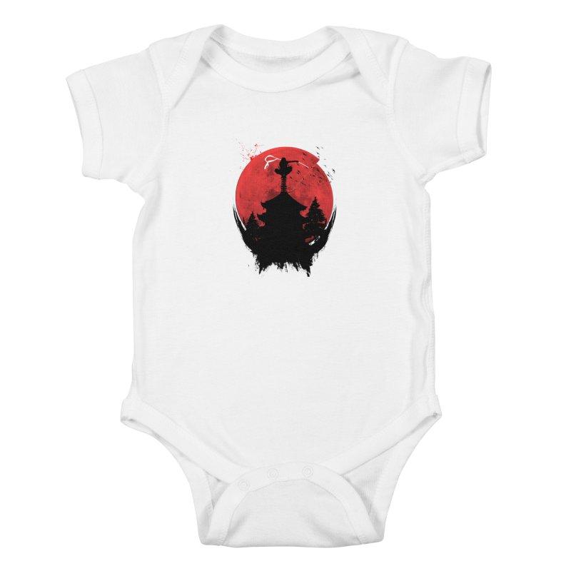Ninja Kids Baby Bodysuit by DOMINATE'S Artist Shop