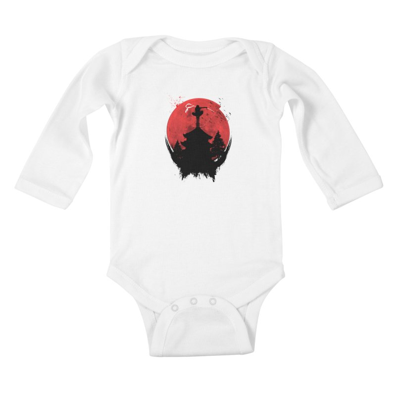 Ninja Kids Baby Longsleeve Bodysuit by DOMINATE'S Artist Shop