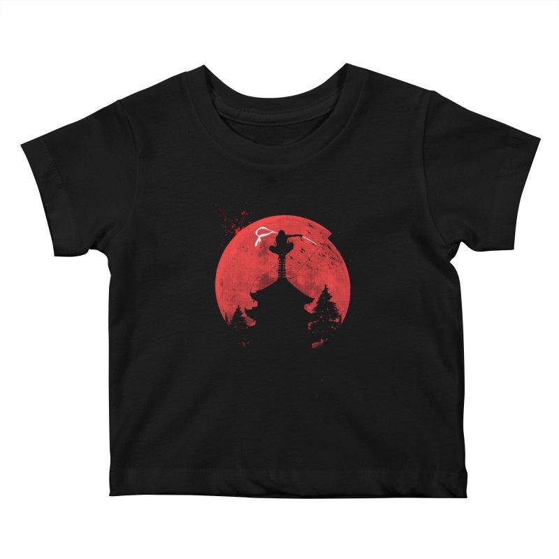 Ninja Kids Baby T-Shirt by DOMINATE'S Artist Shop