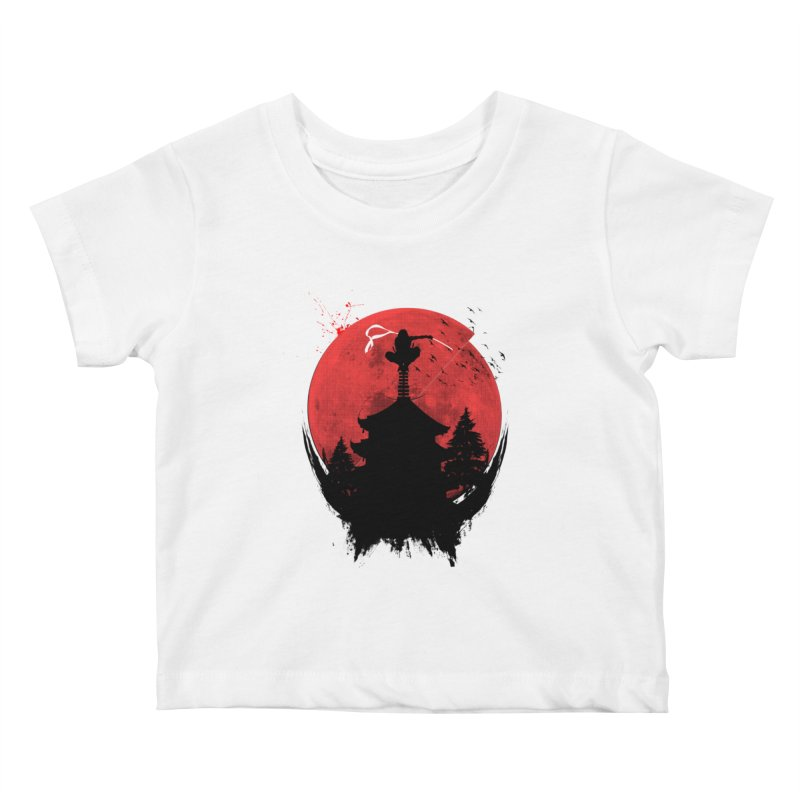 Ninja Kids Baby T-Shirt by DOMINATE'S Artist Shop