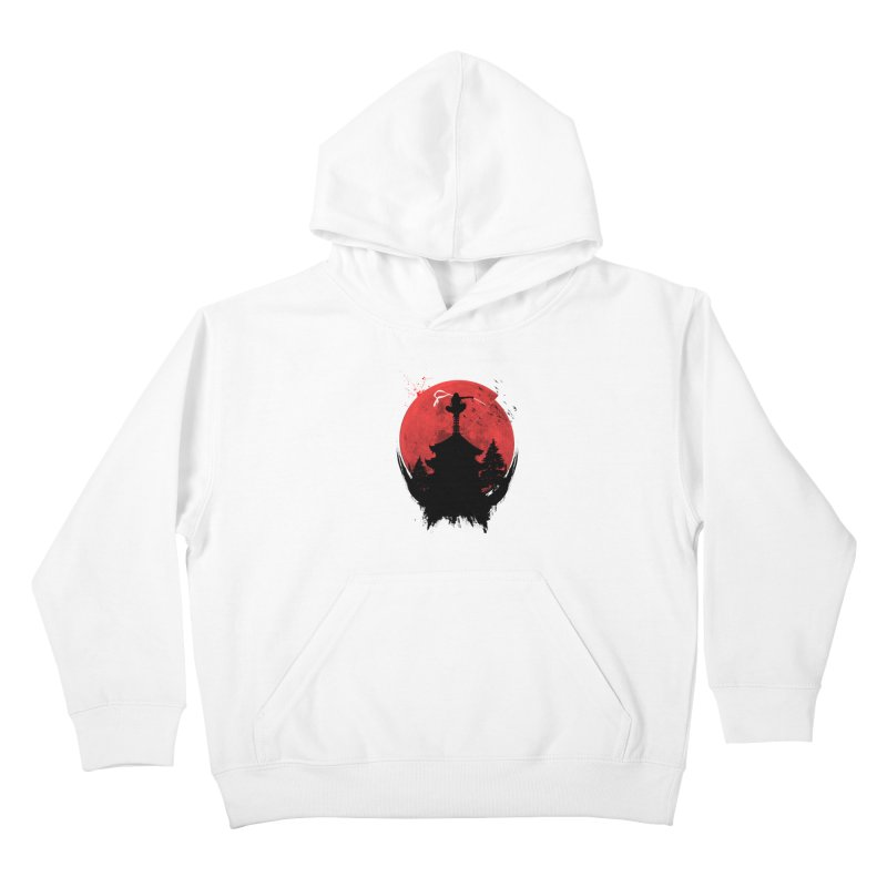 Ninja Kids Pullover Hoody by DOMINATE'S Artist Shop