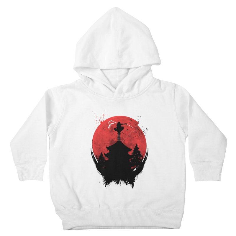 Ninja Kids Toddler Pullover Hoody by DOMINATE'S Artist Shop