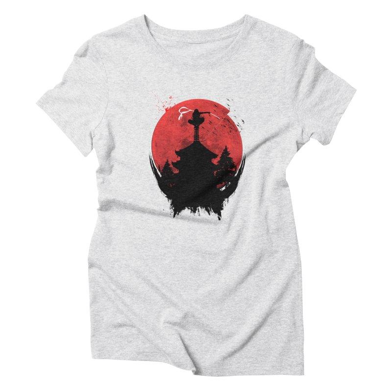 Ninja Women's Triblend T-shirt by DOMINATE'S Artist Shop