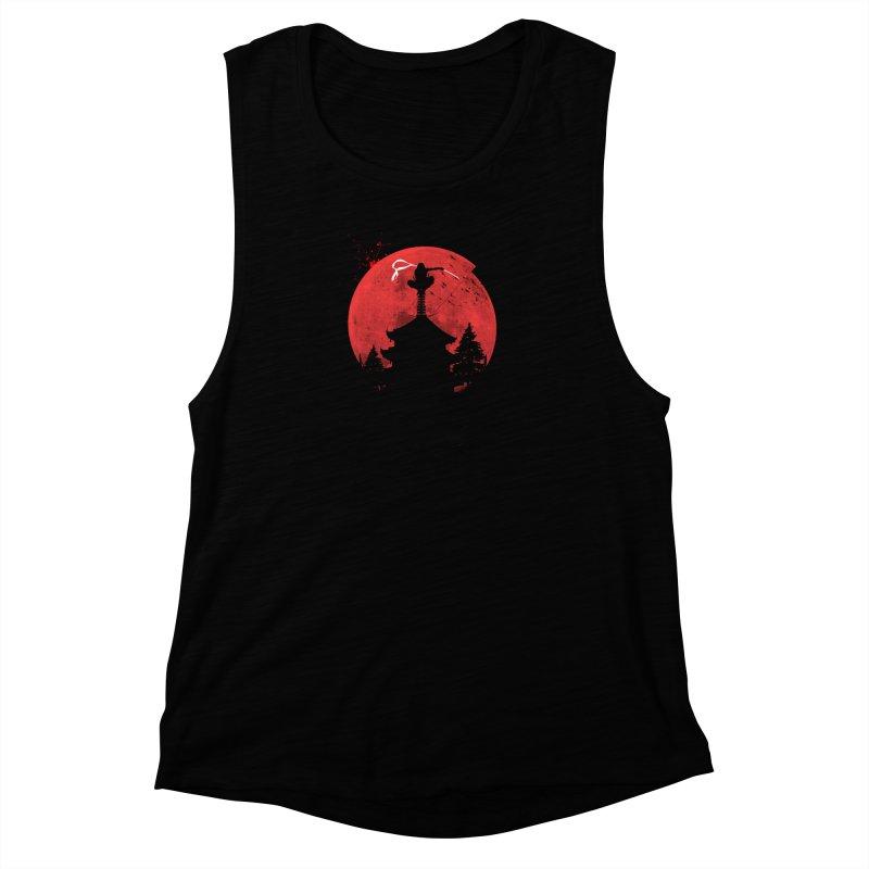 Ninja Women's Muscle Tank by DOMINATE'S Artist Shop