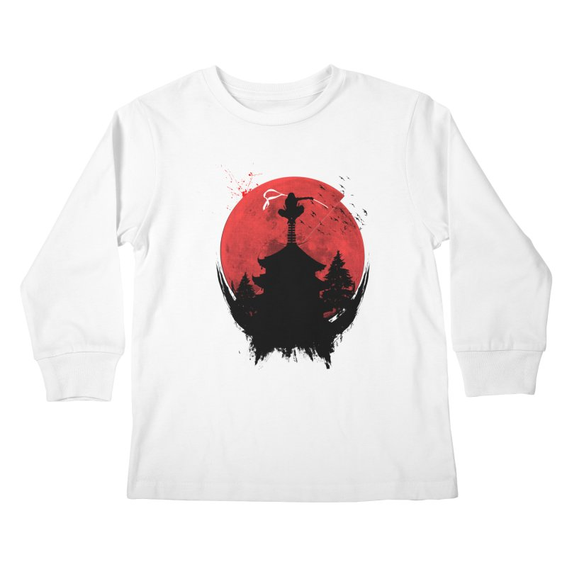 Ninja Kids Longsleeve T-Shirt by DOMINATE'S Artist Shop