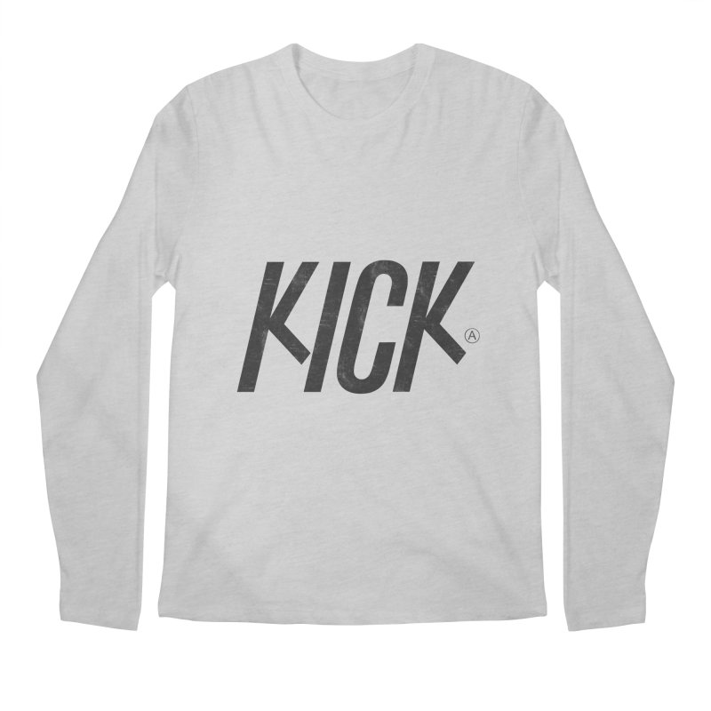 Kick Men's Longsleeve T-Shirt by DOMINATE'S Artist Shop