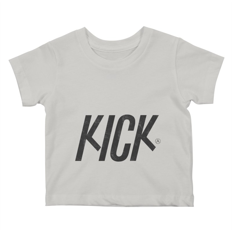 Kick Kids Baby T-Shirt by DOMINATE'S Artist Shop
