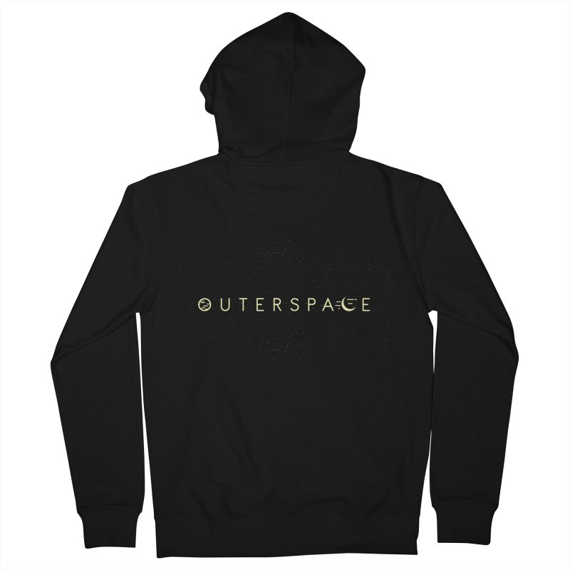 Outerspace Men's Zip-Up Hoody by DOMINATE'S Artist Shop