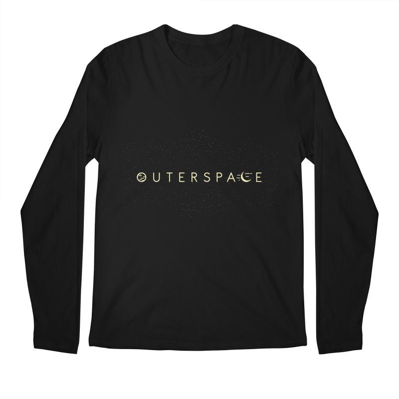 Outerspace Men's Longsleeve T-Shirt by DOMINATE'S Artist Shop