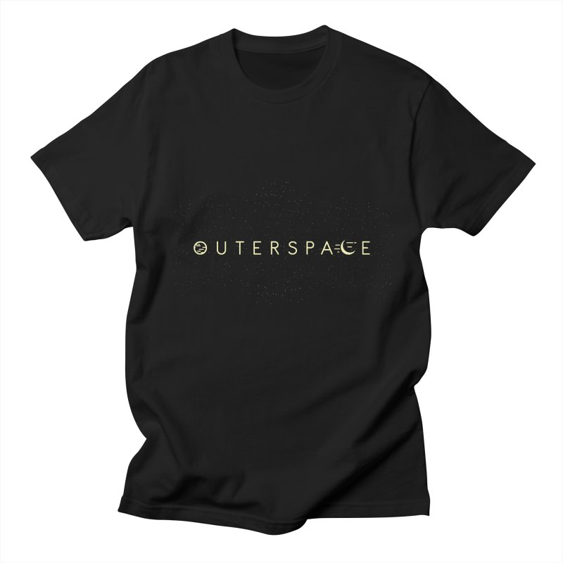 Outerspace Men's T-shirt by DOMINATE'S Artist Shop