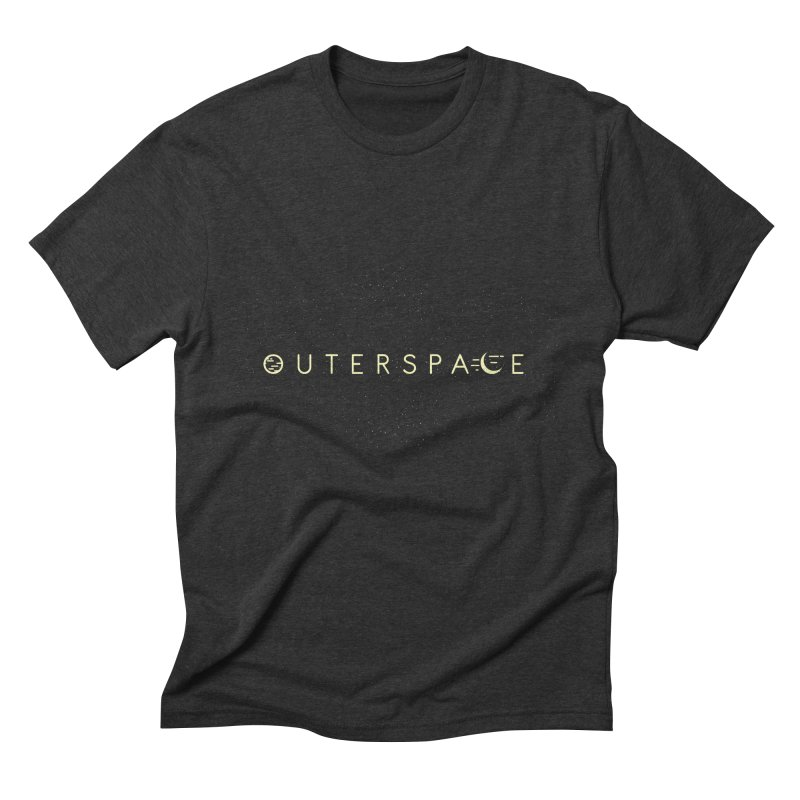 Outerspace Men's Triblend T-Shirt by DOMINATE'S Artist Shop