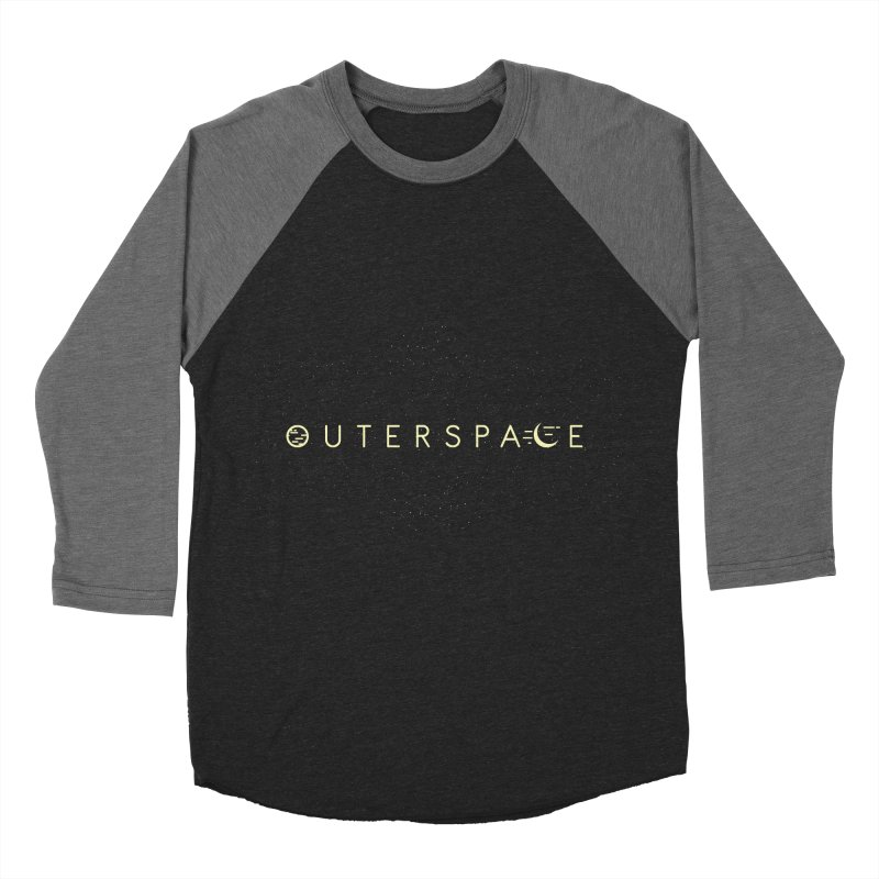 Outerspace Women's Baseball Triblend T-Shirt by DOMINATE'S Artist Shop