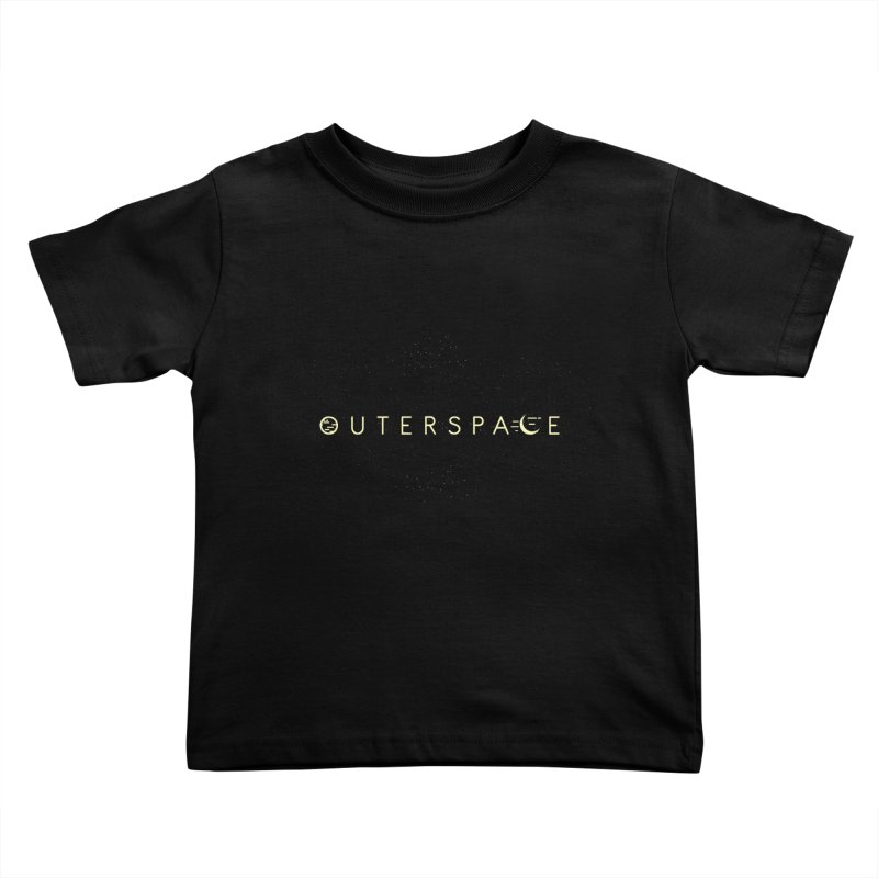 Outerspace Kids Toddler T-Shirt by DOMINATE'S Artist Shop