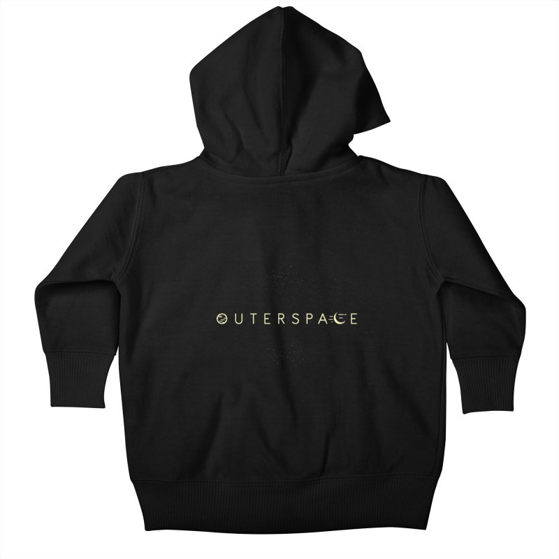 Outerspace Kids Baby Zip-Up Hoody by DOMINATE'S Artist Shop