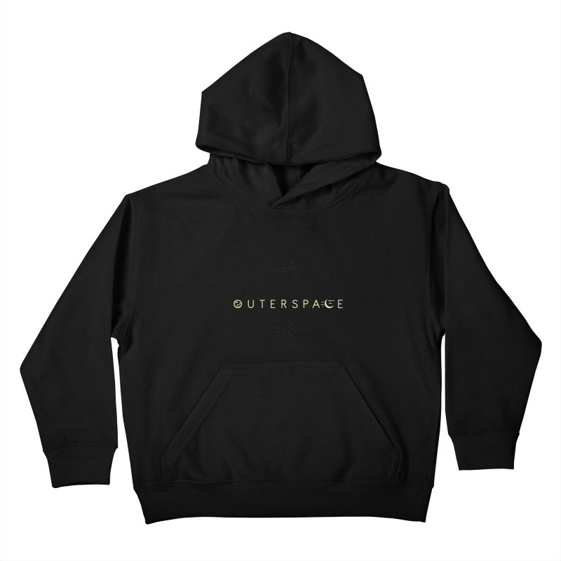 Outerspace Kids Pullover Hoody by DOMINATE'S Artist Shop