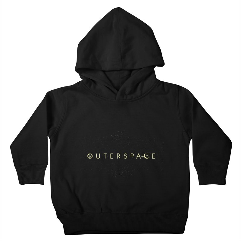 Outerspace Kids Toddler Pullover Hoody by DOMINATE'S Artist Shop