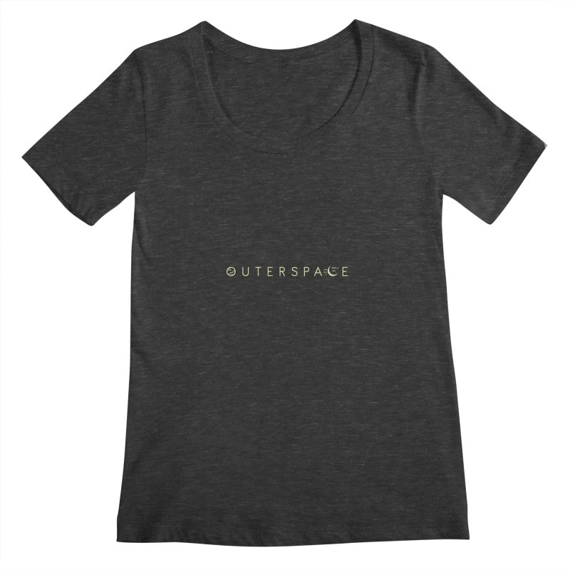 Outerspace Women's Scoopneck by DOMINATE'S Artist Shop