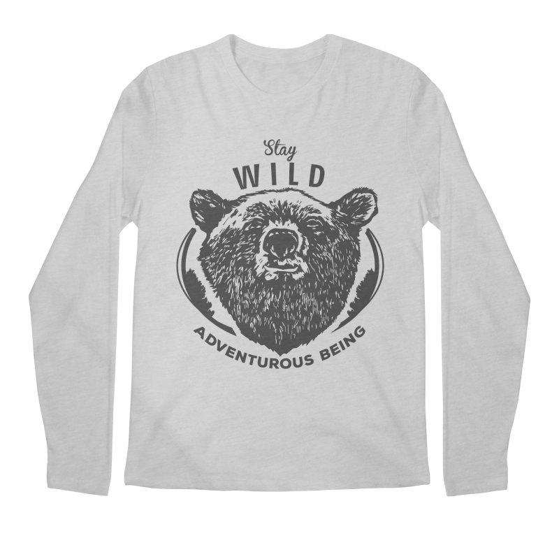 Stay Wild Men's Longsleeve T-Shirt by DOMINATE'S Artist Shop