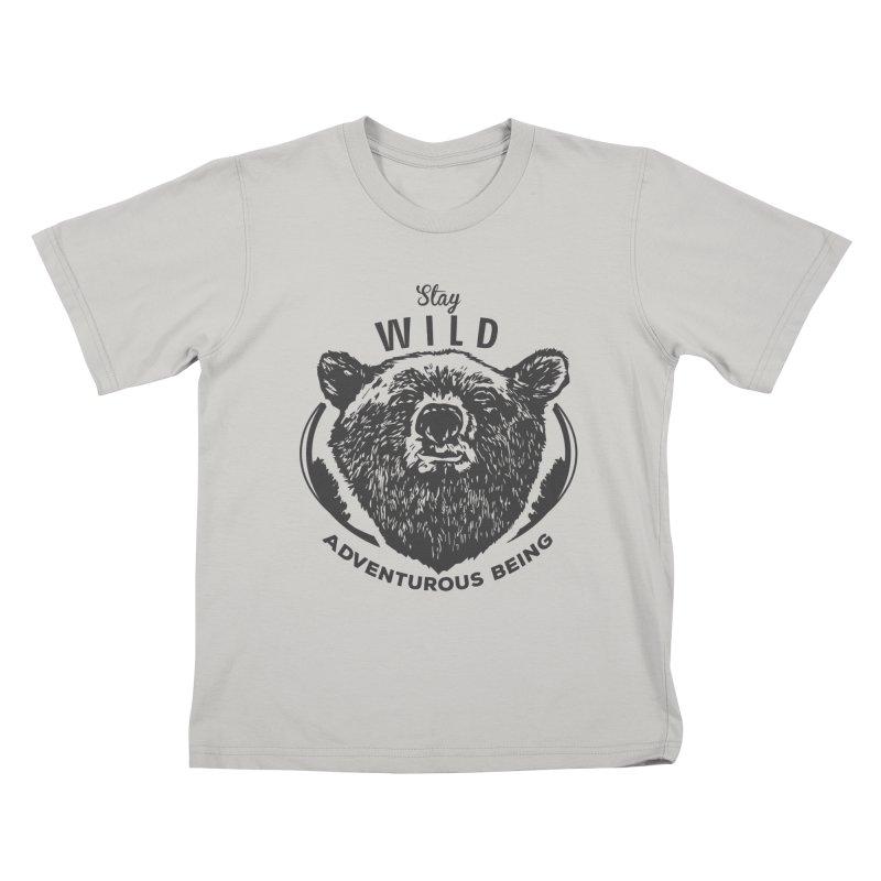 Stay Wild Kids T-Shirt by DOMINATE'S Artist Shop