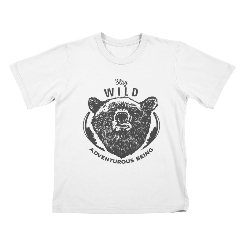 Stay Wild Kids T-Shirt by DOMINATE'S Artist Shop