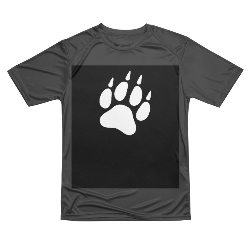 Paw Print Men's Performance T-Shirt by The Dominicator's Domain