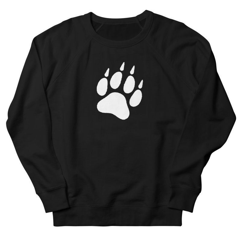 Paw Print Men's French Terry Sweatshirt by The Dominicator's Domain