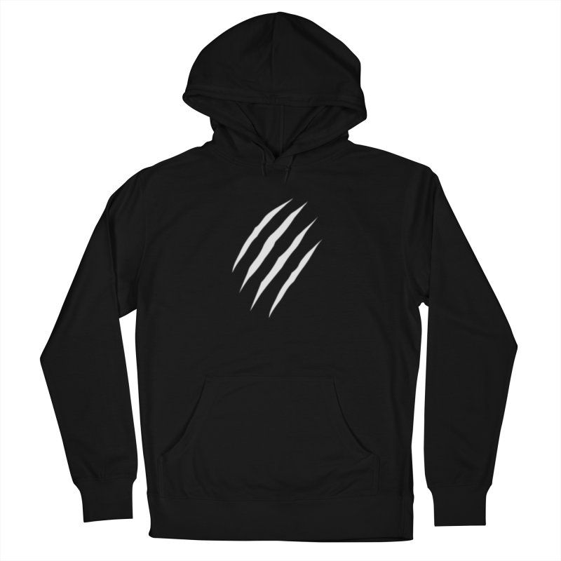 Scratch Mark Men's French Terry Pullover Hoody by The Dominicator's Domain