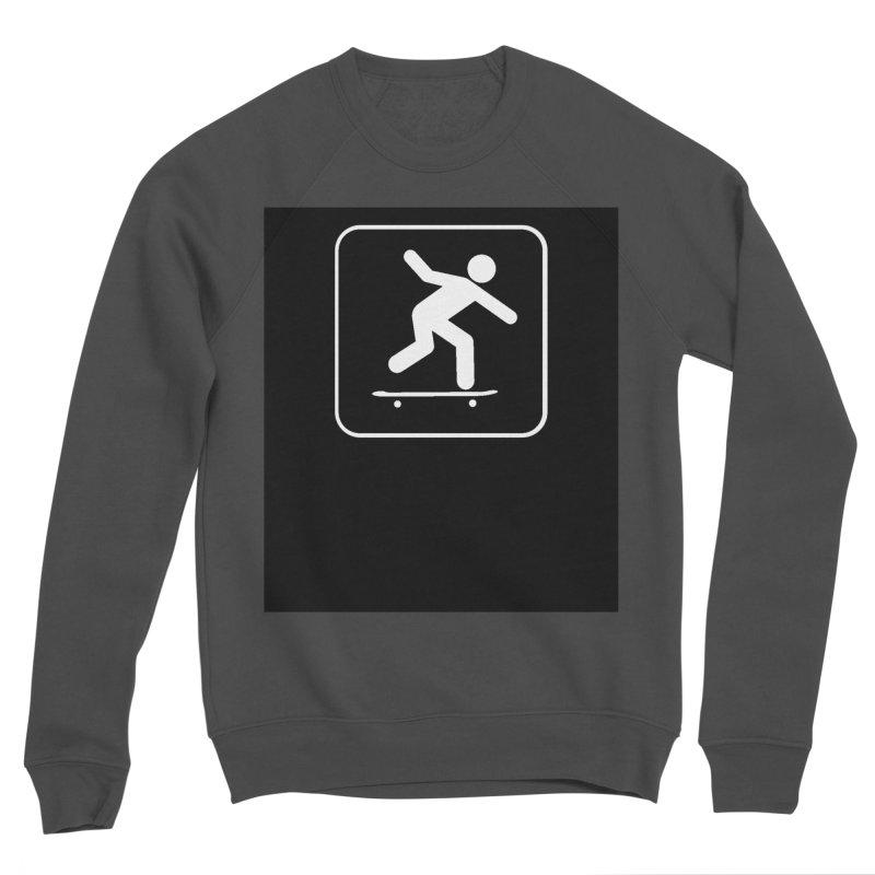 Skateboarder Men's Sponge Fleece Sweatshirt by The Dominicator's Domain