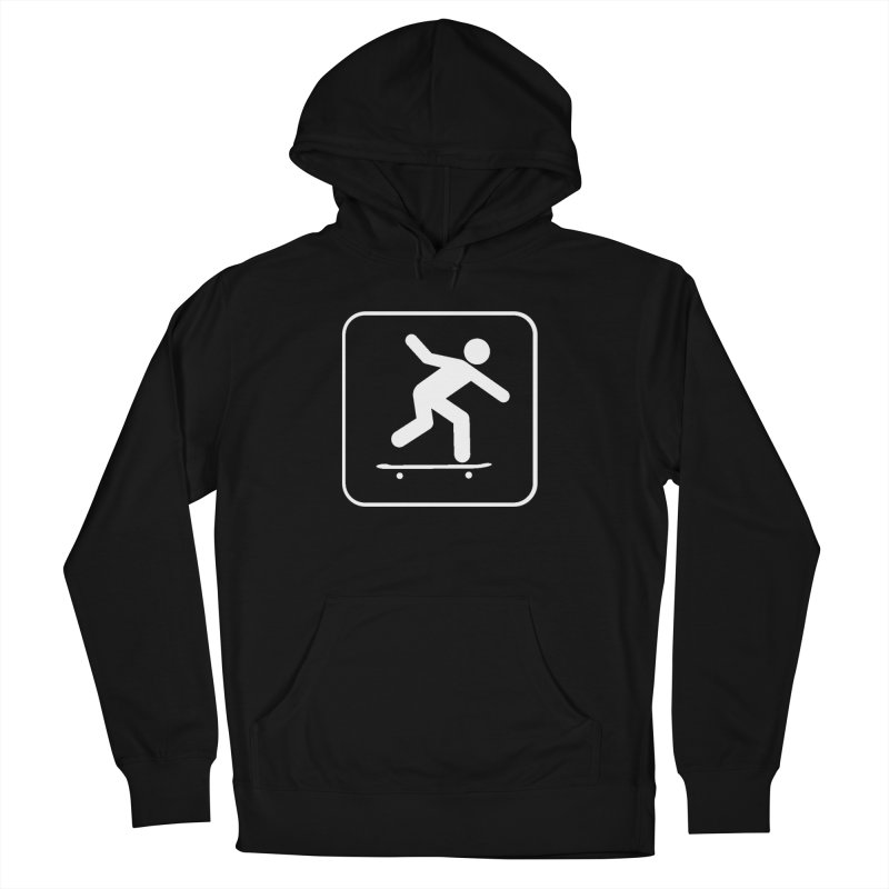 Skateboarder Men's French Terry Pullover Hoody by The Dominicator's Domain