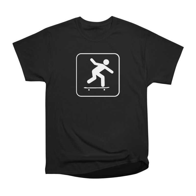 Skateboarder Men's Heavyweight T-Shirt by The Dominicator's Domain