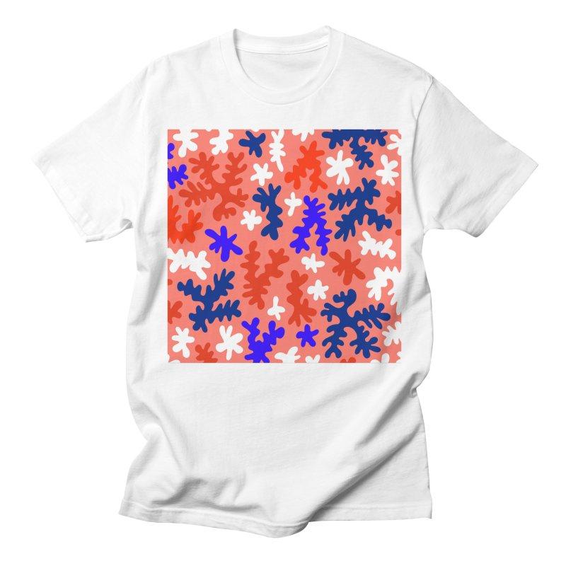 The Shape of Living Coral Men's T-Shirt by dominiquevari's Artist Shop