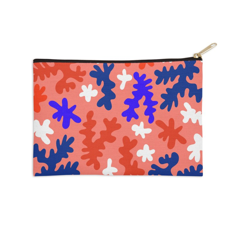 The Shape of Living Coral Accessories Zip Pouch by dominiquevari's Artist Shop