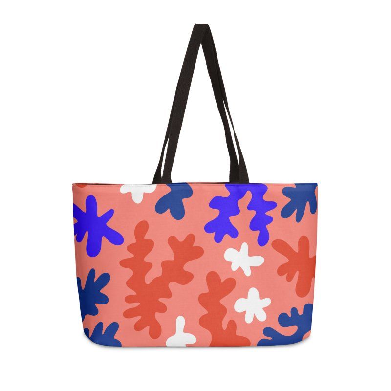 The Shape of Living Coral Accessories Bag by dominiquevari's Artist Shop