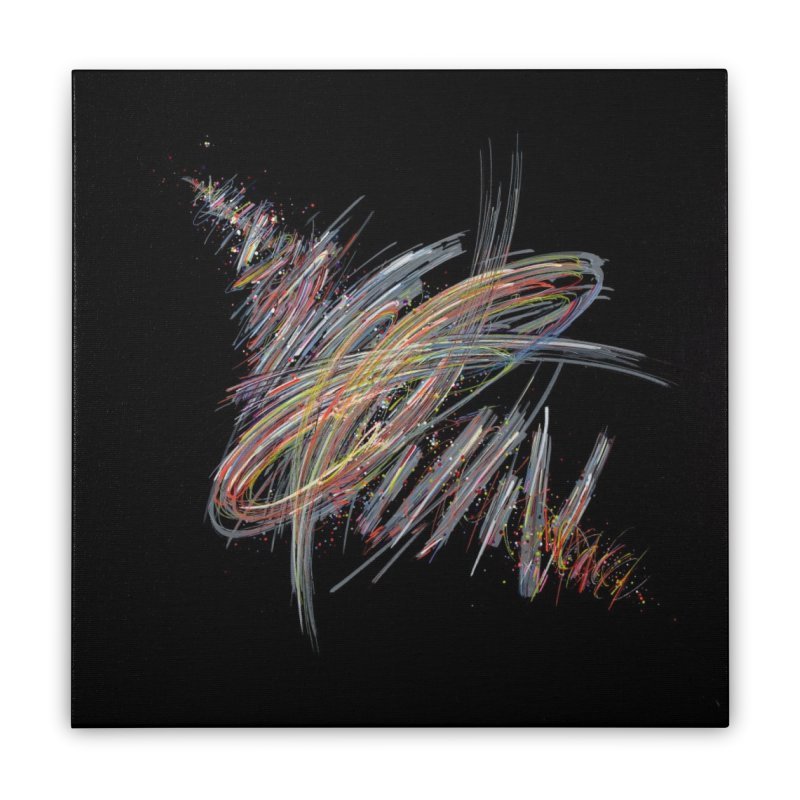 2020-007 Home Stretched Canvas by Dominique Vial's Artist Shop