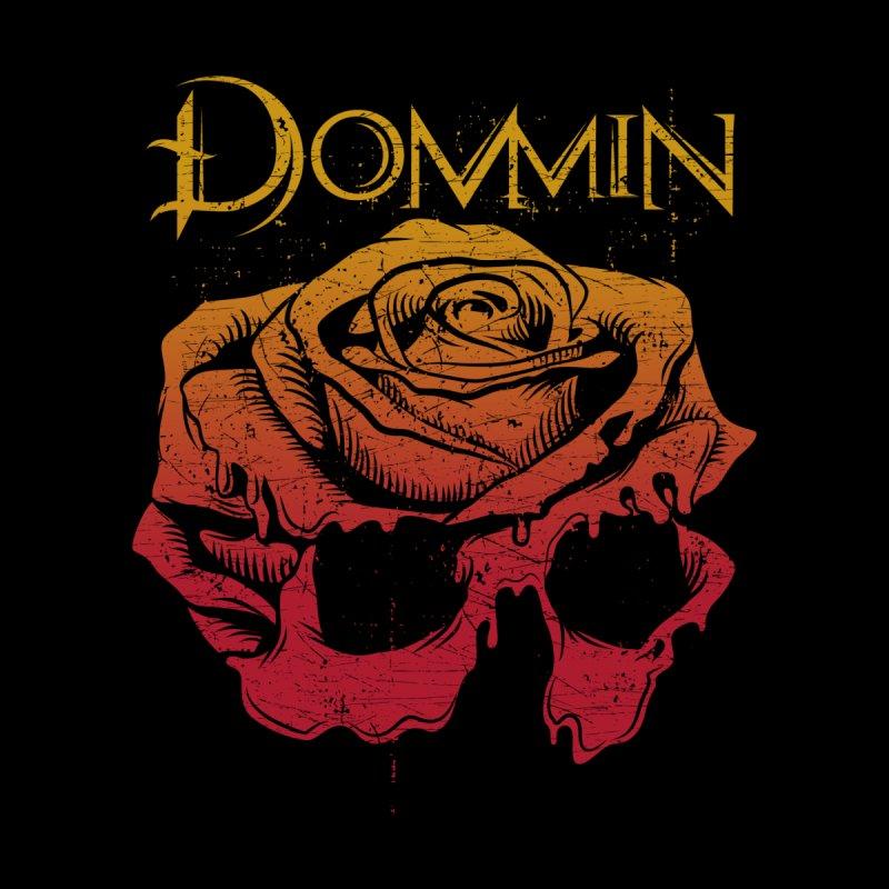 Rose Skull Autumn Summer Women's Tank by Dommin's Shop