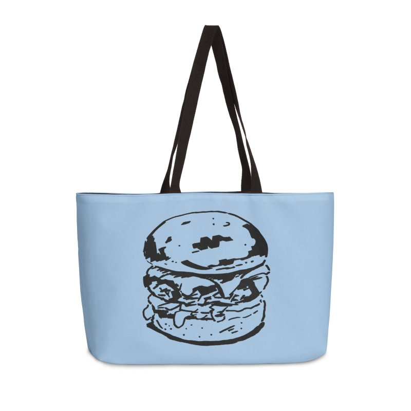 Burger Accessories Bag by Donal Mangan's Artist Shop