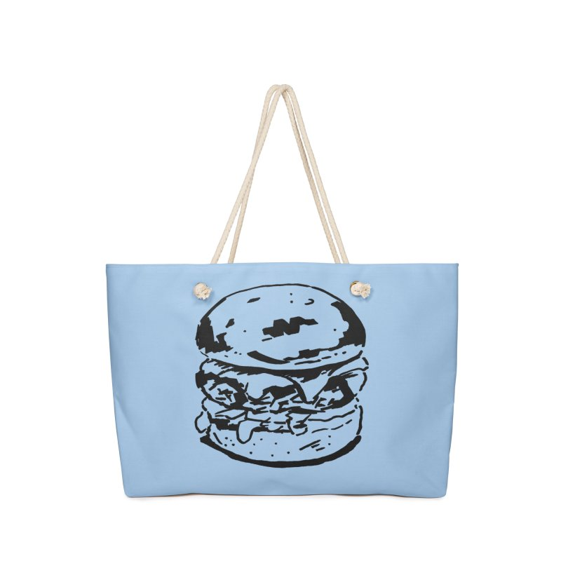Burger Accessories Bag by Donal Mangan's Artist Shop
