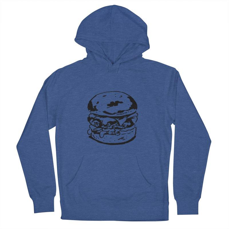 Burger Men's Pullover Hoody by Donal Mangan's Artist Shop