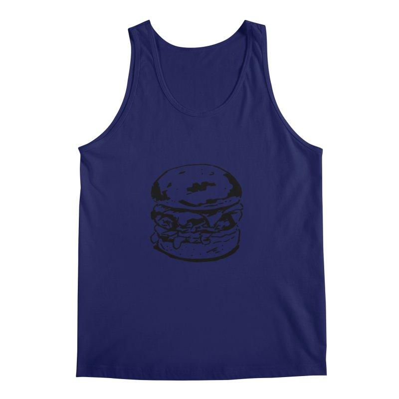 Burger Men's Regular Tank by Donal Mangan's Artist Shop