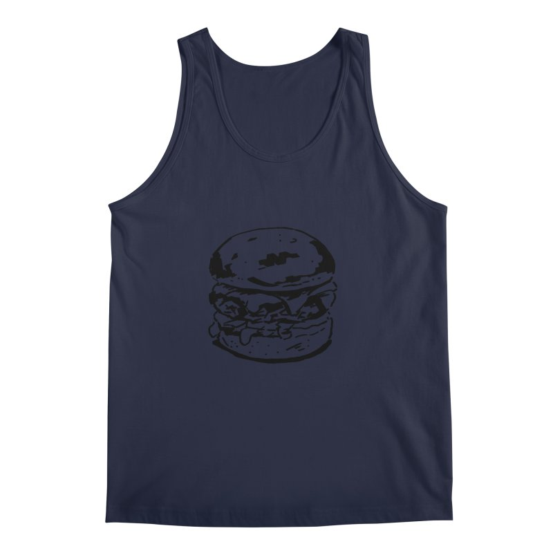 Burger Men's Tank by Donal Mangan's Artist Shop