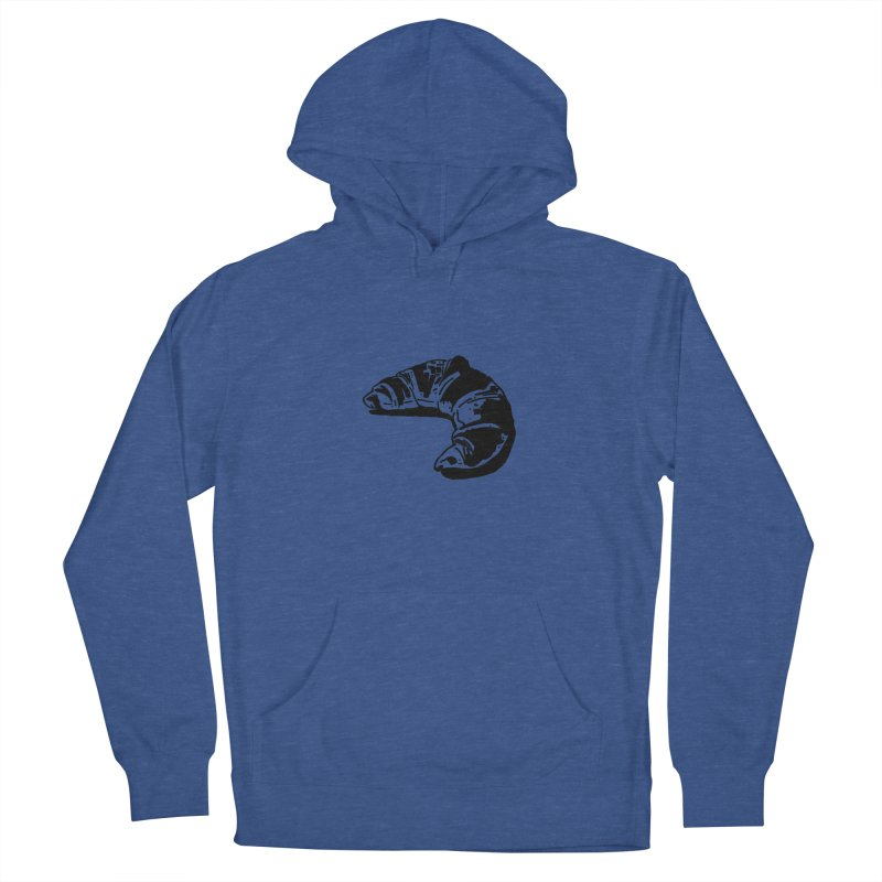 Croissant Men's Pullover Hoody by Donal Mangan's Artist Shop