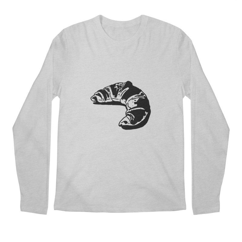 Croissant Men's Longsleeve T-Shirt by Donal Mangan's Artist Shop