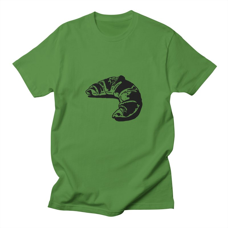 Croissant Women's Regular Unisex T-Shirt by Donal Mangan's Artist Shop