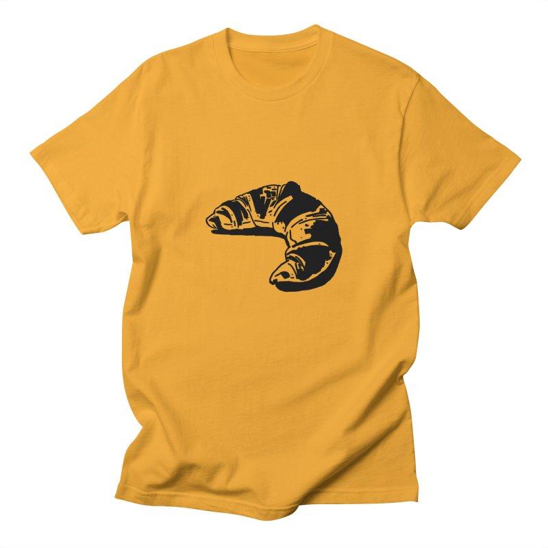 Croissant Men's T-Shirt by Donal Mangan's Artist Shop