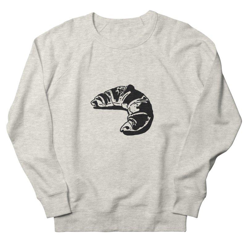 Croissant Women's Sweatshirt by Donal Mangan's Artist Shop